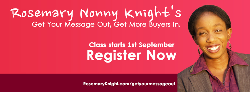 Get Your Message Out, Get More Buyers In