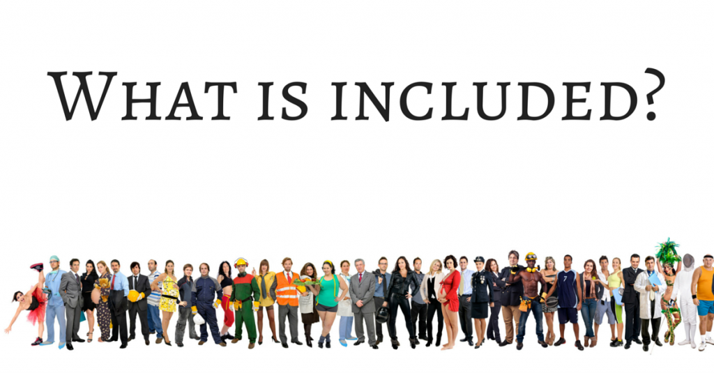 What is included-