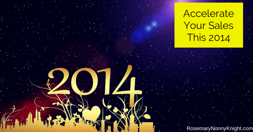 Accelerate Your Sales This 2014