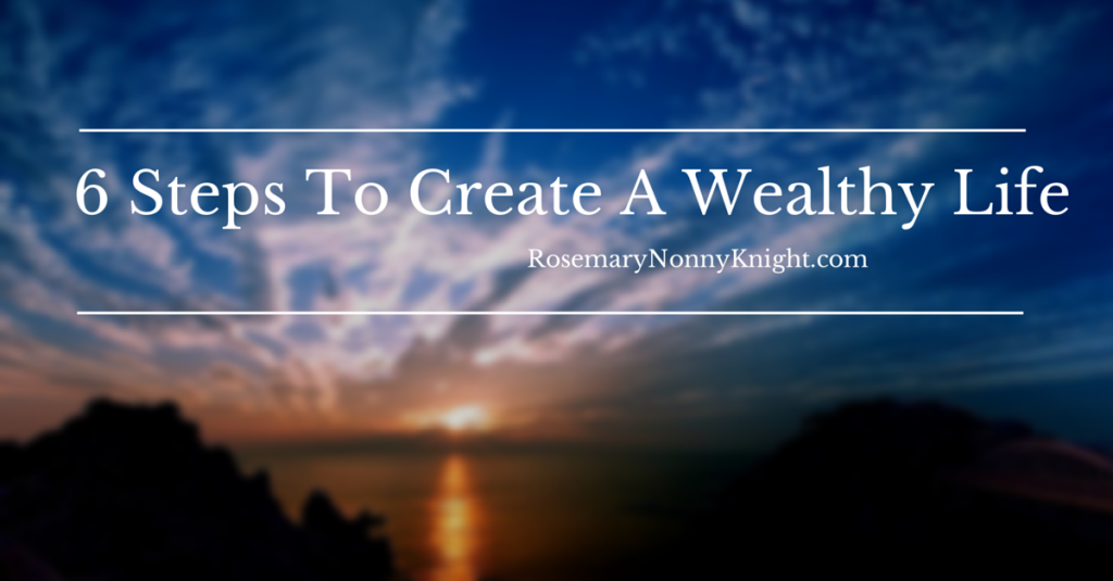 Start the day right, create wealth
