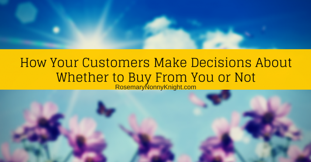 Make Buying Decisions