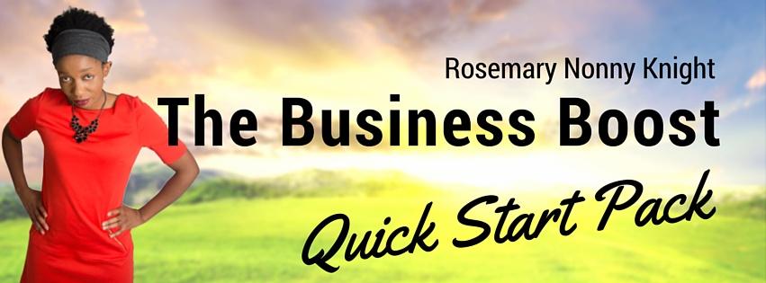 Business Boost Quickstart