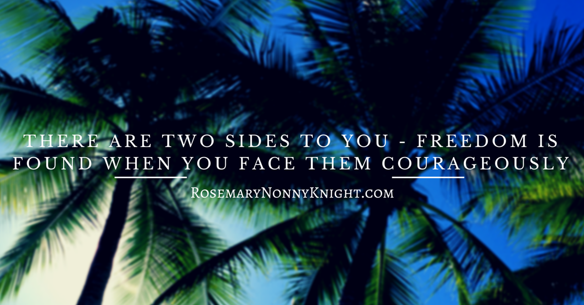 THERE ARE TWO SIDES TO YOU - FREEDOM IS