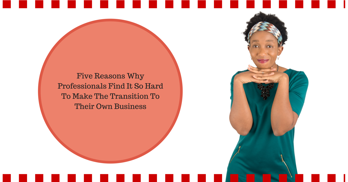 FIVE REASONS WHY PROFESSIONALS FIND IT