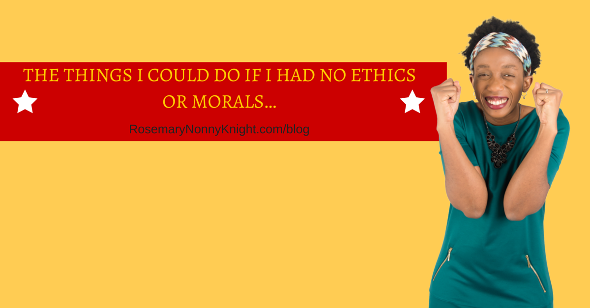 ethics or morals