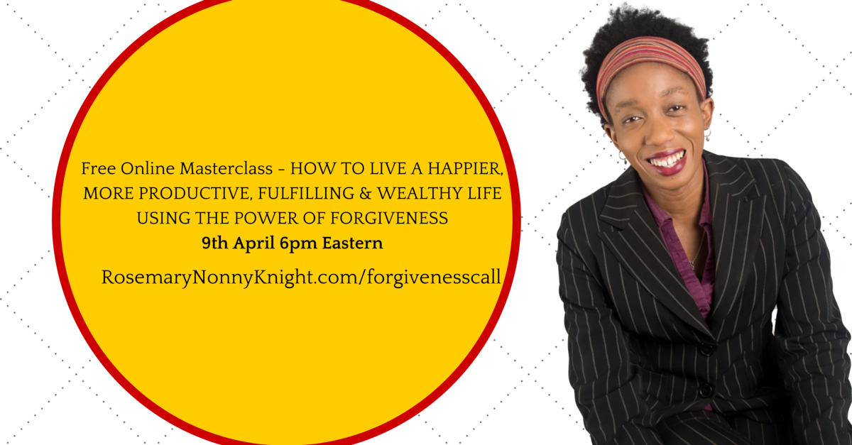 Forgiveness call - How to forgive