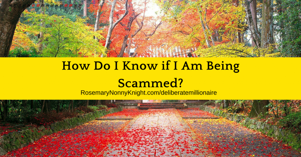 How do I know if I am being scammed