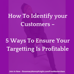 How to identify your customers