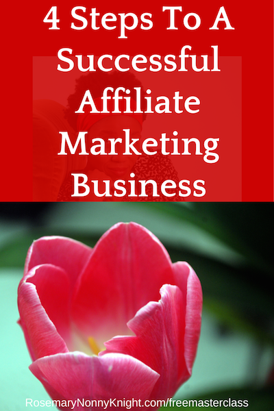 4 Steps To A Successful Affiliate Marketing Business
