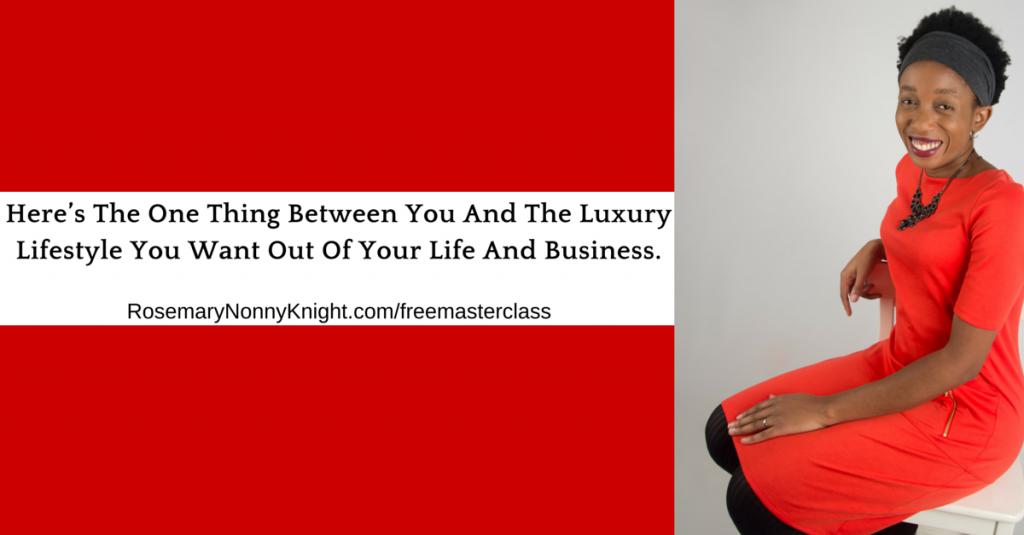The one thing between you and your luxury lifestyle