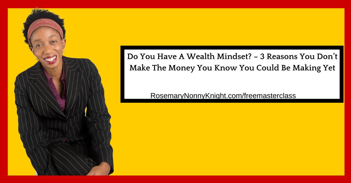 Wealth Mindset