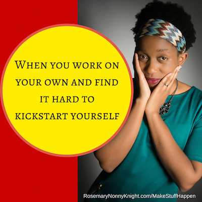 Kickstart yourself