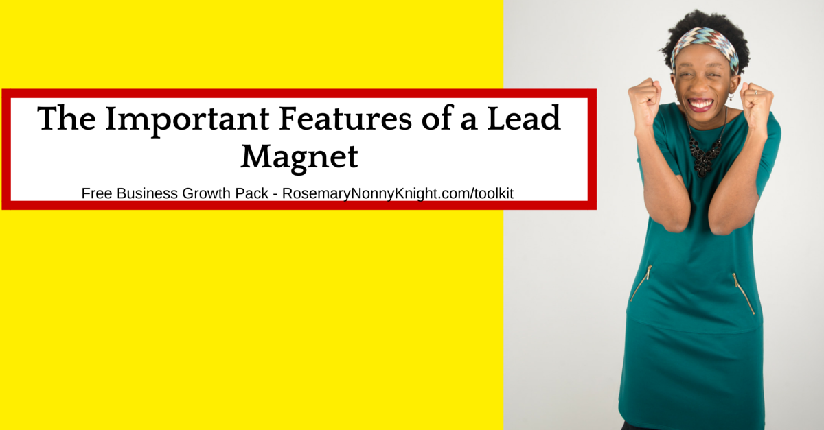 The Important Features of a Lead Magnet