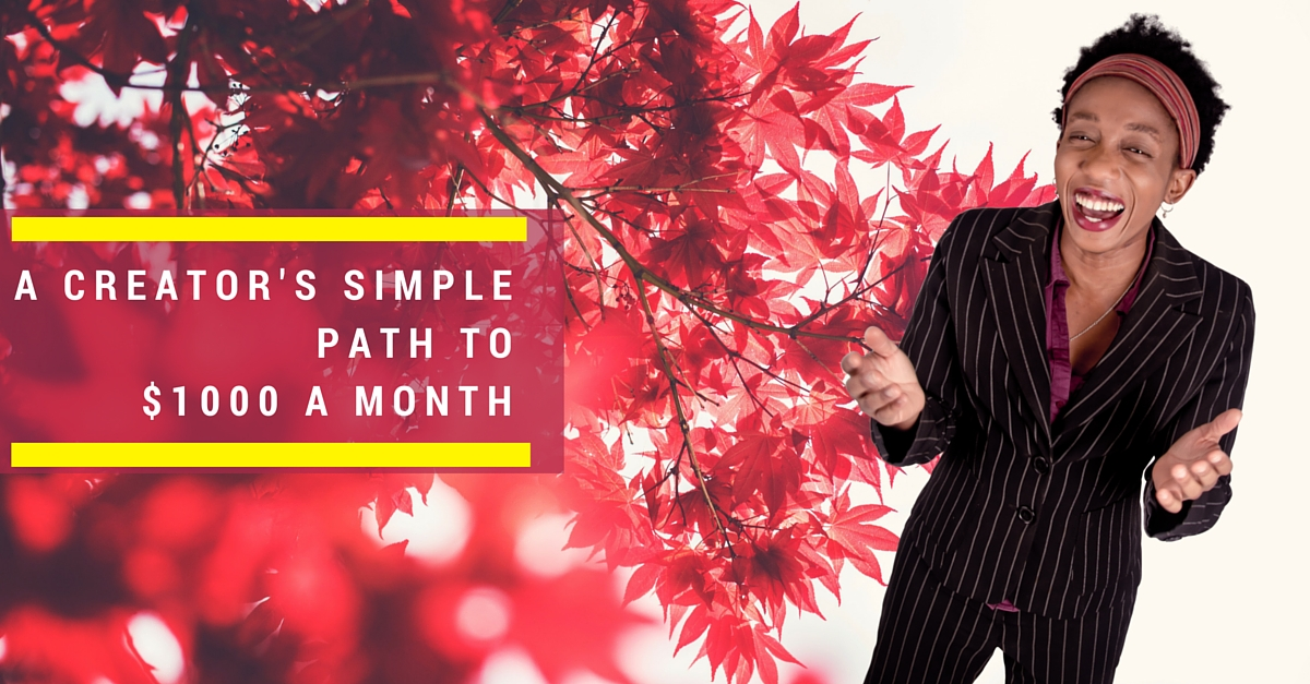 Create Your Way To $1000 Simply