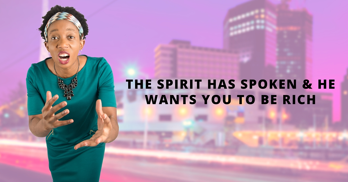 Is your spirituality getting in the way of changing lives and creating wealth?