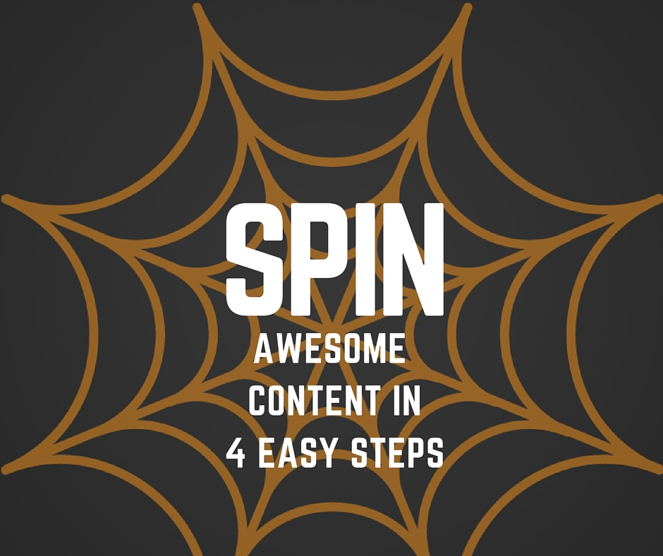 Spin Awesome Content in 4 Quick Steps
