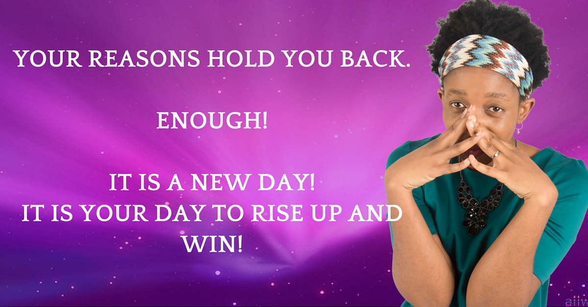 A New Day Is Here – RIse Up Leader! It Is Your Day!