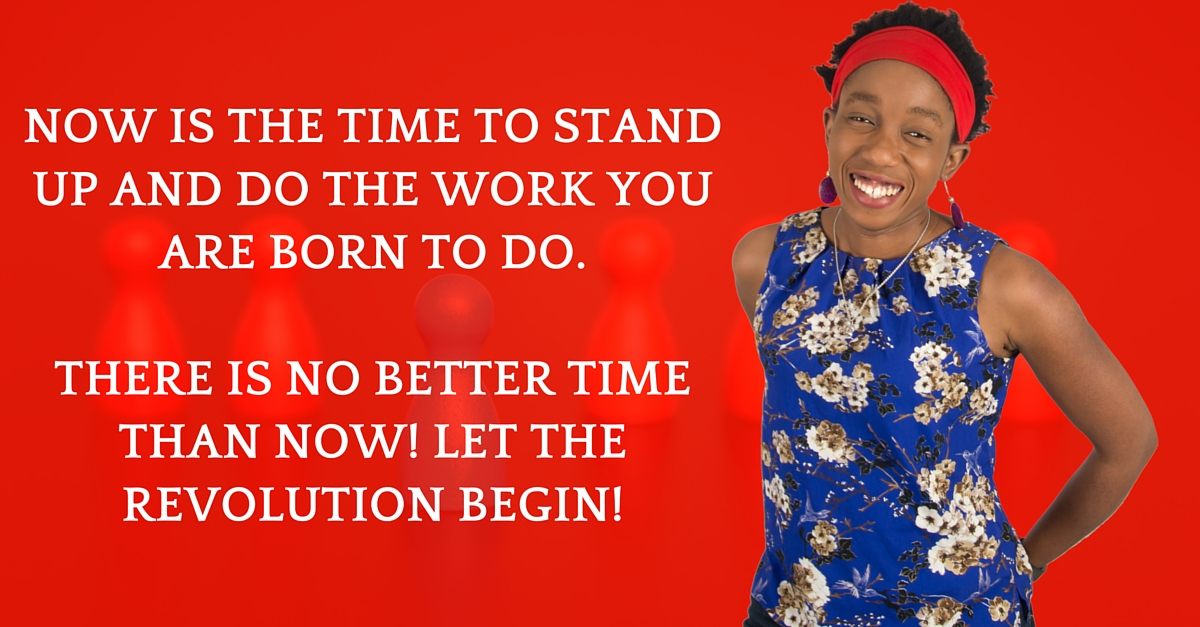 NOW is your time!