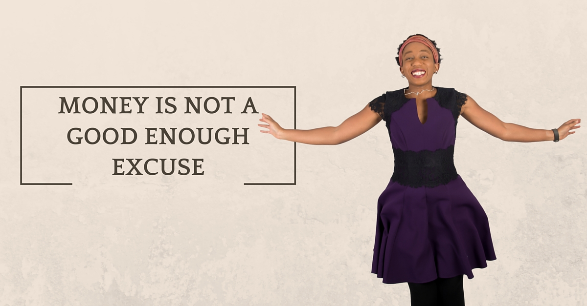 Money is not a good enough excuse – Mp3/Video