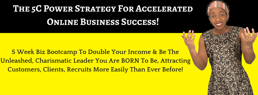 The 5C Power Strategy For Accelerated Online business Success