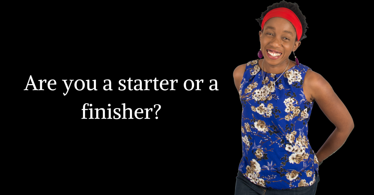Starters And Finishers – Which One Are You?