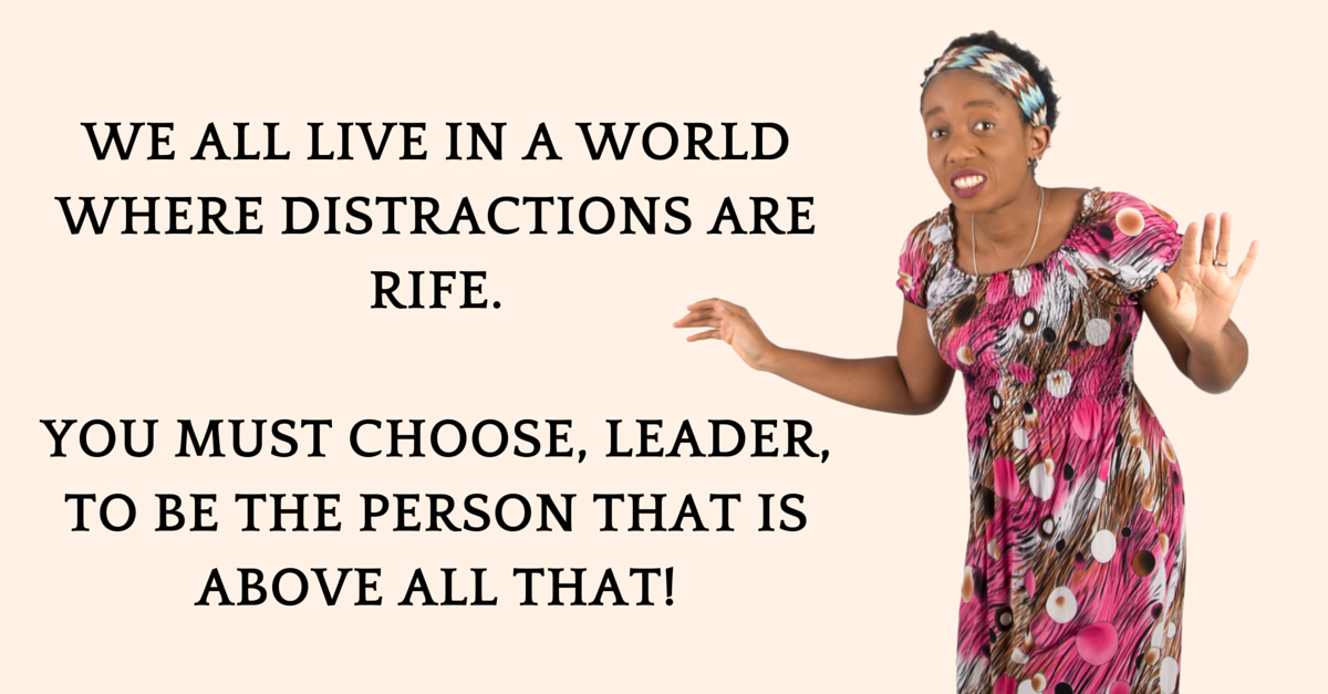 Distractions Are Not Allowed To Define You! It Is YOUR TIME To Make & Impact Millions!