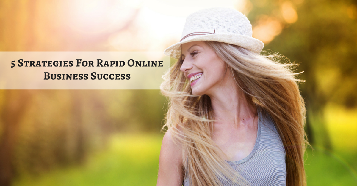 5 Strategies To Grow Your Online Business FAST
