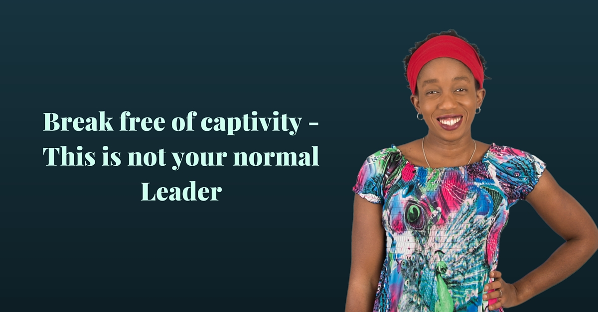 Break free of captivity – This is not your normal Leader – Mp3/Video