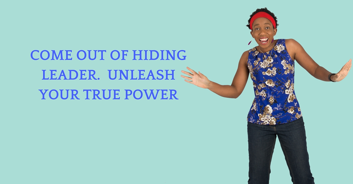 Come Out Of Hiding Leader.  Unleash Your true Power – Mp3/Video