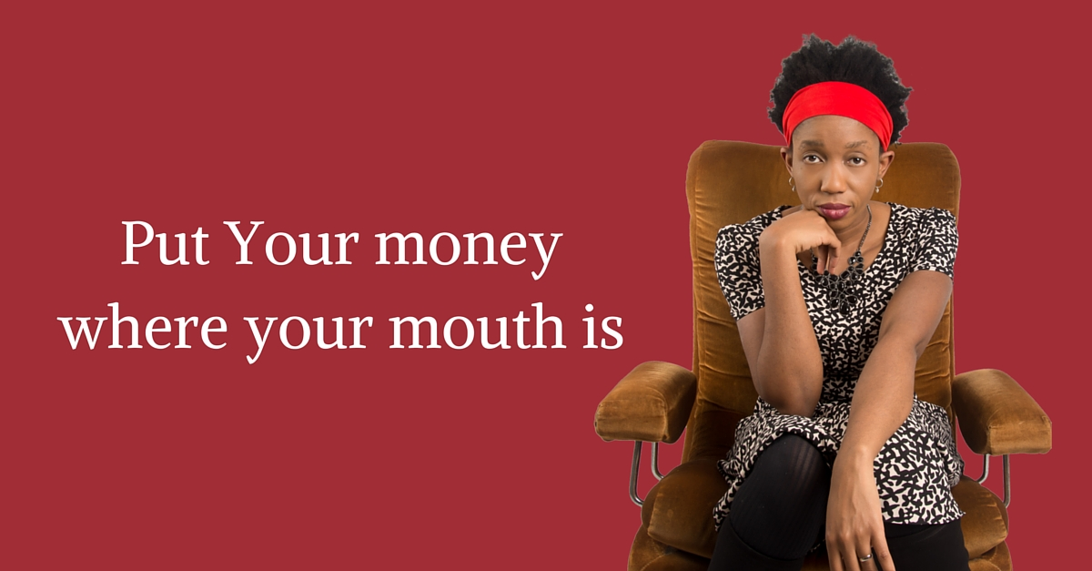 Put Your money where your mouth is – Mp3/Video