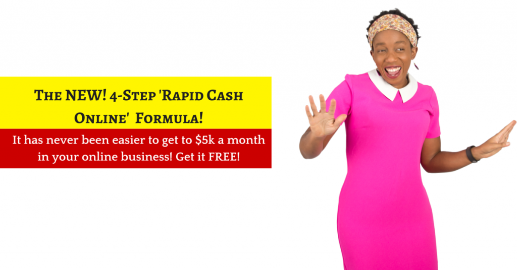 The NEW! 4-Step 'Rapid Cash Online' Formula!