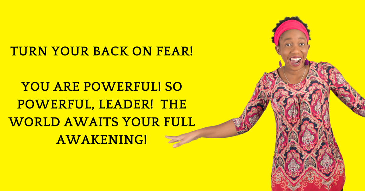 How To Punch Fear In The Face, Take Back Your Life & Become a 'Because I Want To' Deliberate Millionaire!