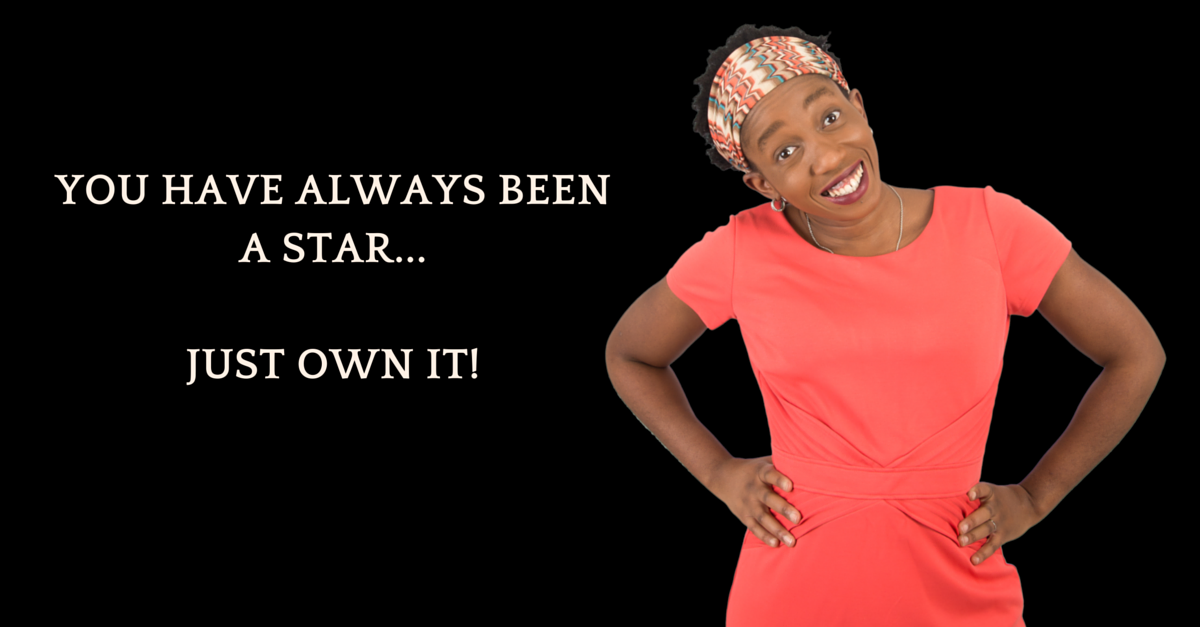 Be Famous, Be Rich. Own Your Power Leader! You Are Born To Be A Star!