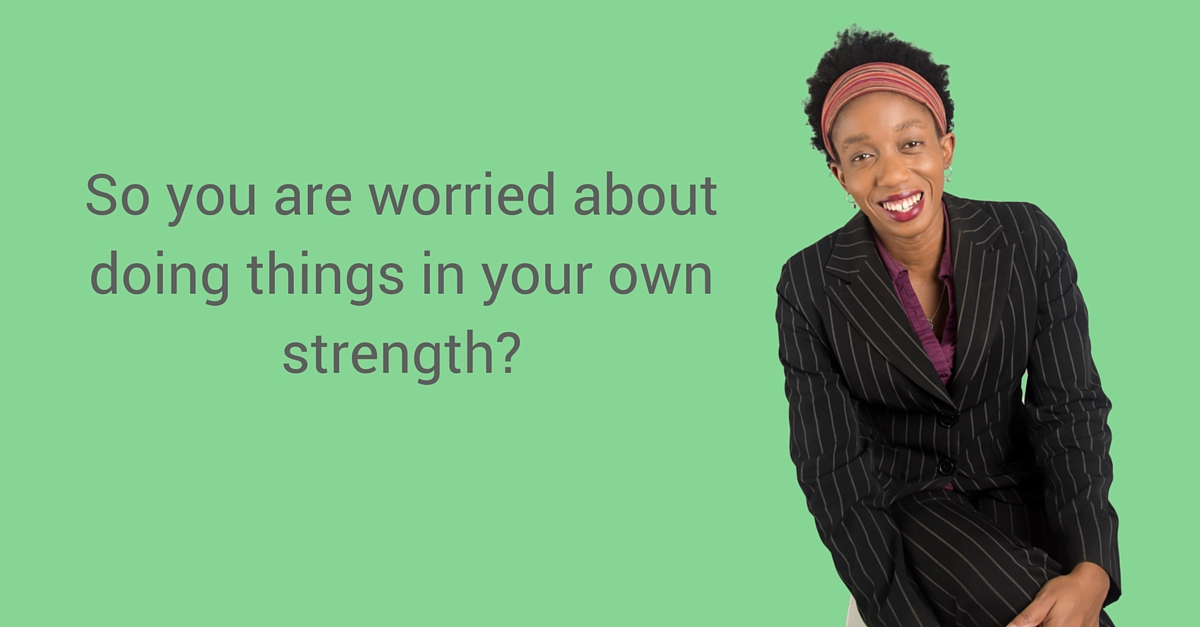 So you are worried about doing things in your own strength? – Mp3/Video