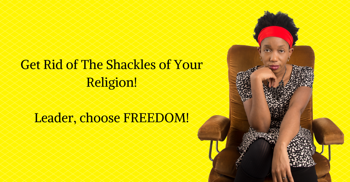 Break Free Of The Limits Of Your Religion