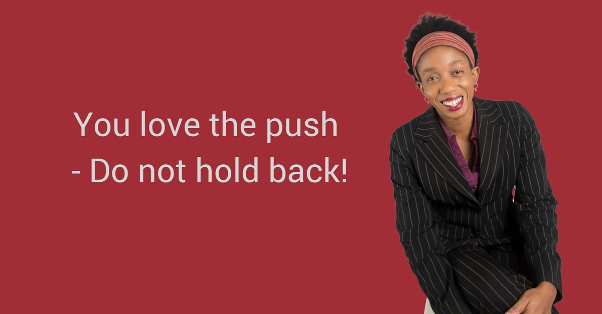 You love the push – Do not hold back! – Mp3/Video