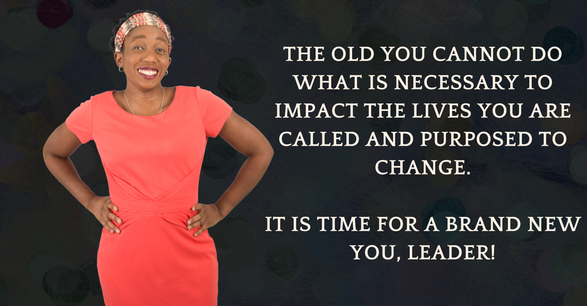 The old you CANNOT break through to the next level