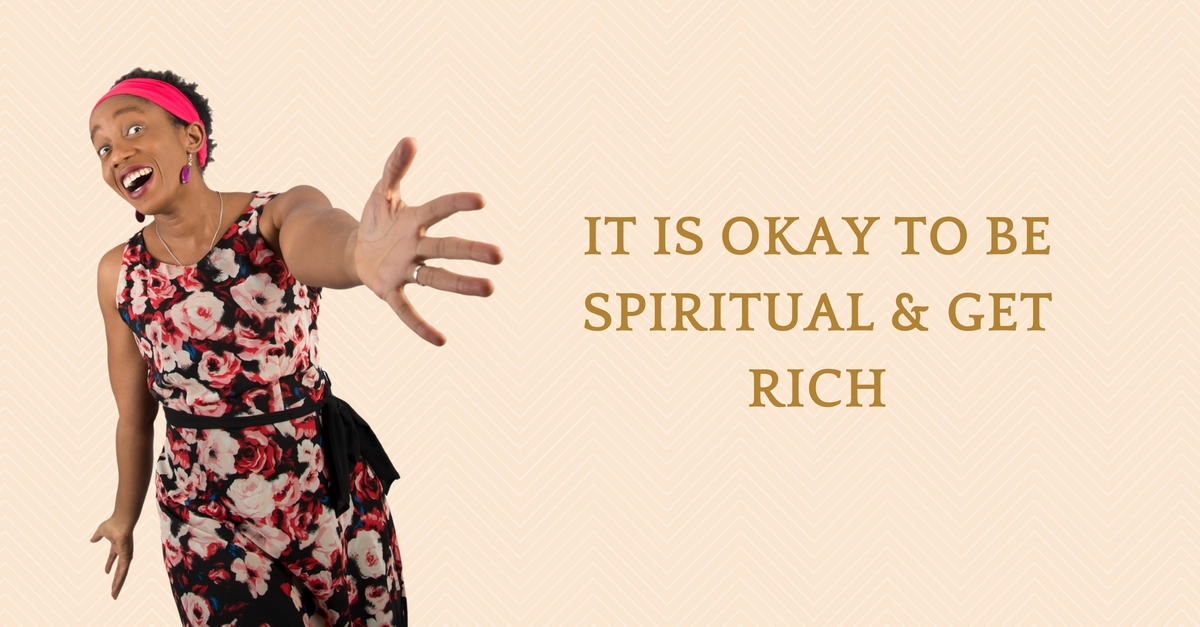 It Is Okay To Be Spiritual & Get Rich – Mp3/Video