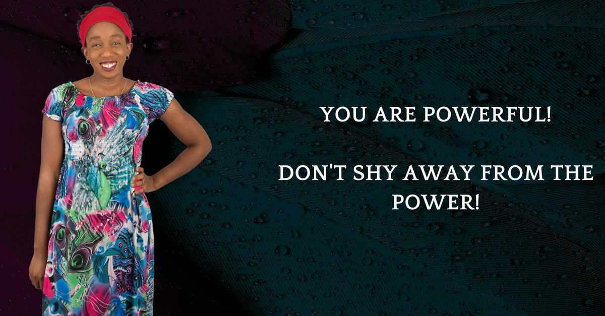 OWN YOUR POWER!