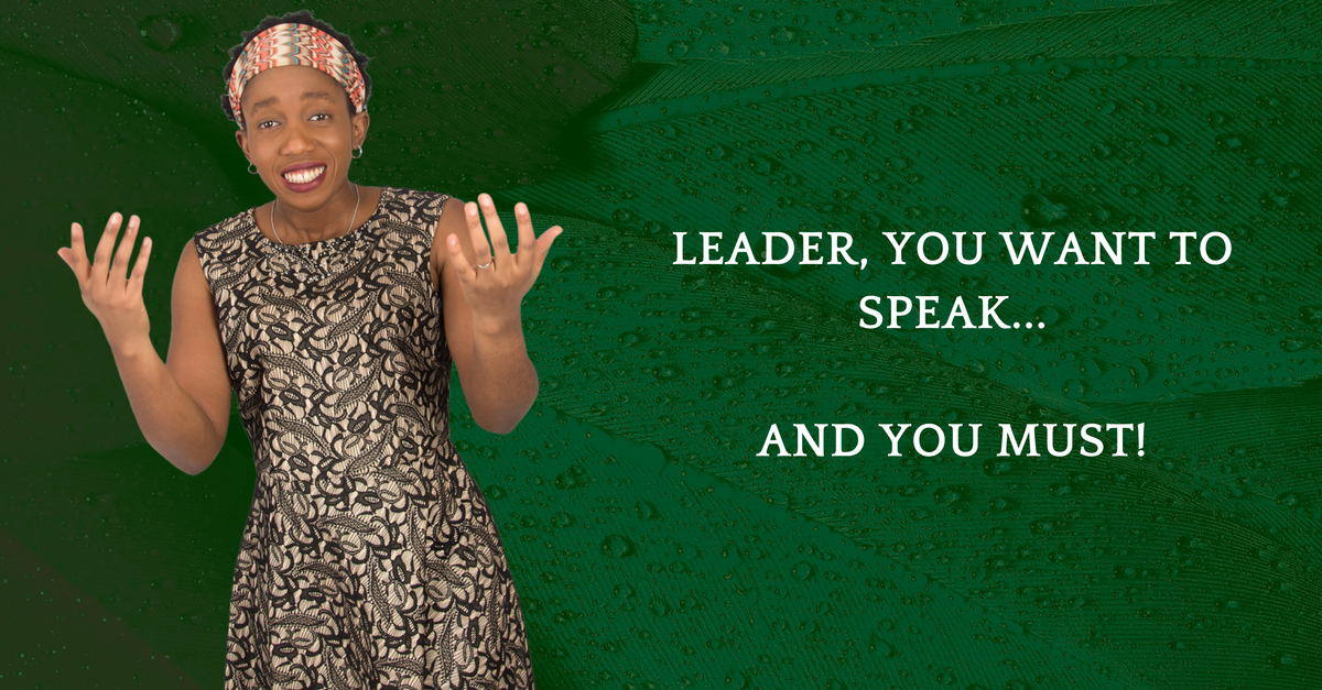 You MUST Speak – False Leaders Are Rising Up & Speaking – Where The Heck Are You?