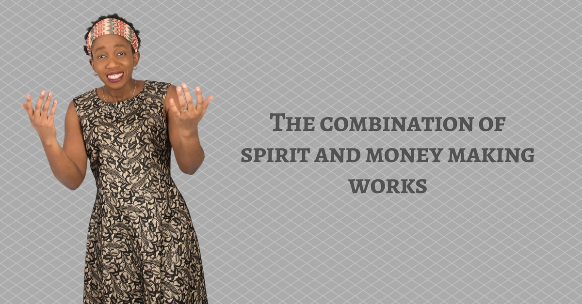 The combination of spirit and money making works – Mp3/Video