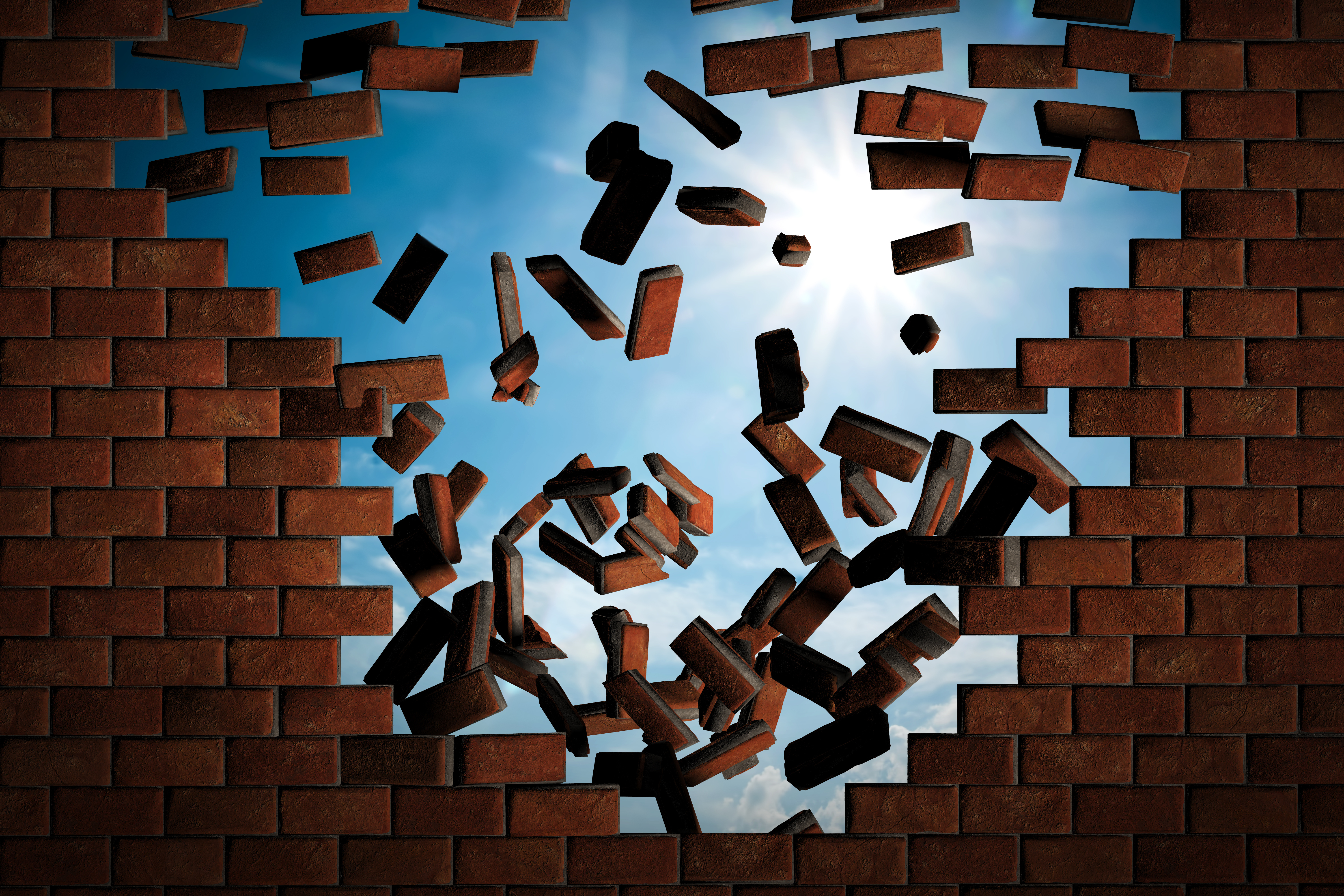 The Walls Are Falling Down – Wealth, Abundance, Success Is Yours For The Asking