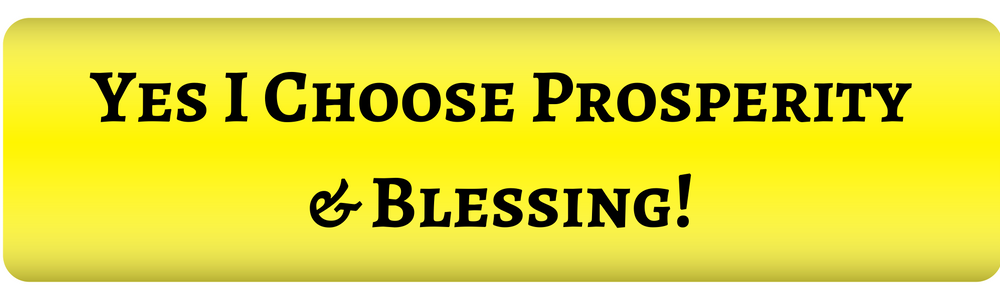 Prosperous Blessed Entrepreneur