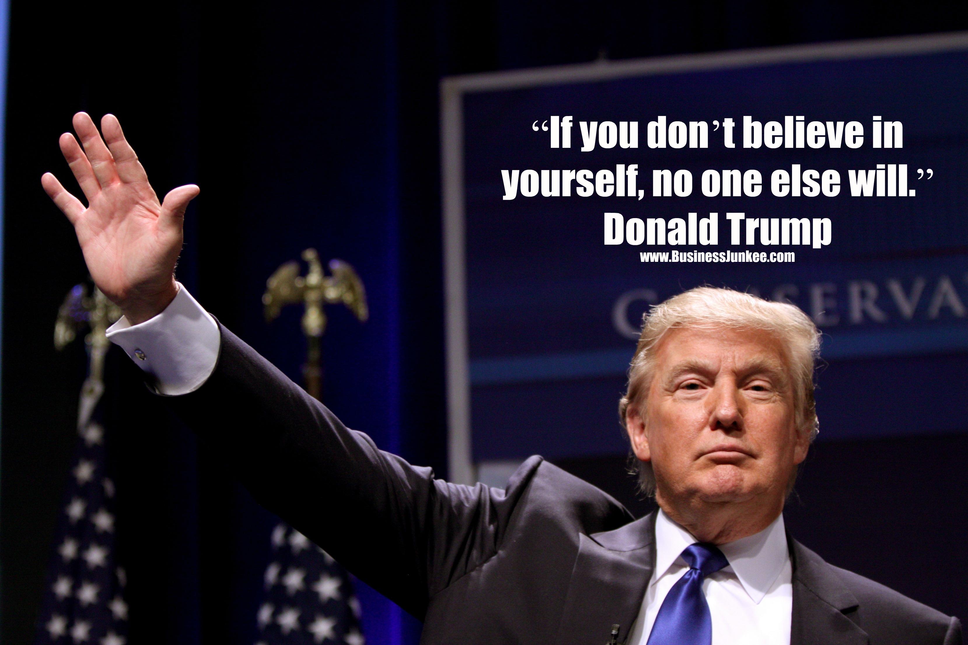 So Trump Won!
