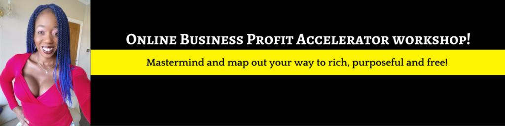online business profit accelerator