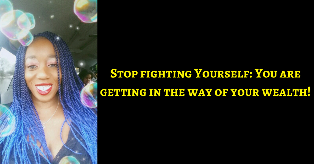 Don't Resist The Work aka Stop fighting your own financial freedom