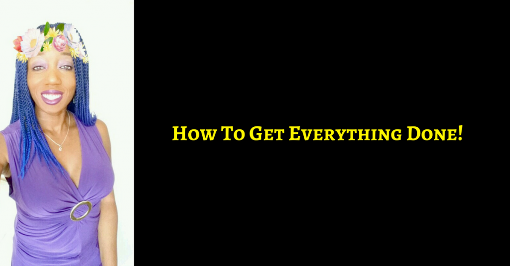 Rosemary Nonny Knight - How to get everything done