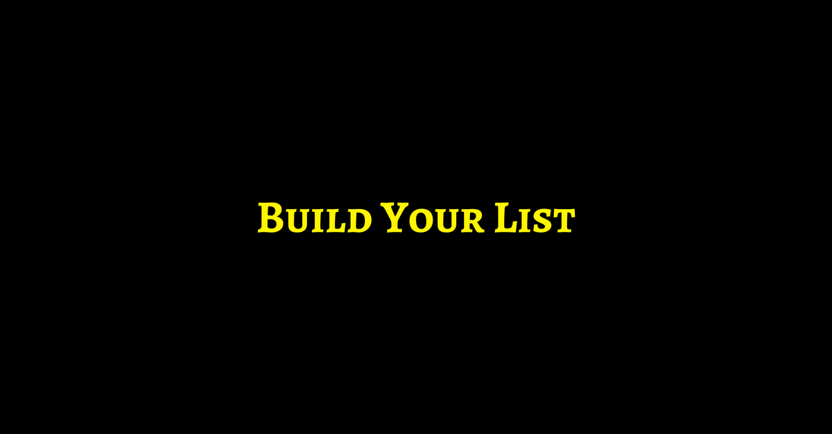 10 Ways To Supercharge your List Building