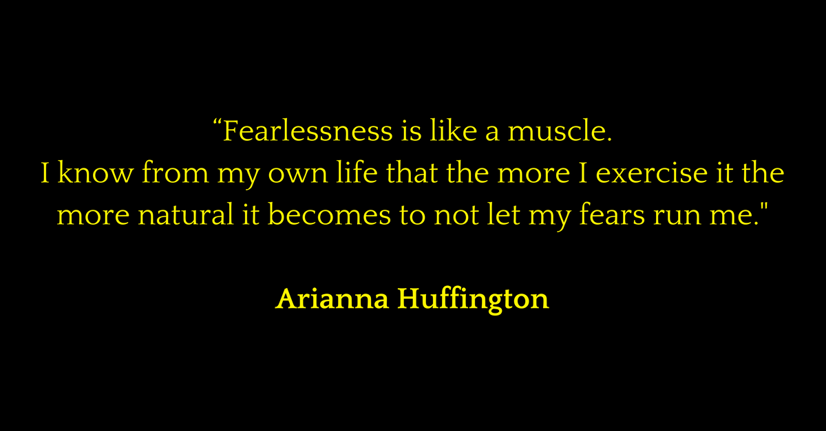Be Fearless – Your Financial Independence, YOUR FREEDOM depends on it