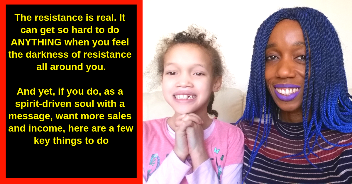 The Resistance Monster Ain't Going Nowhere.  Do You Want More Sales Or Not? If You Do, This Will Help…